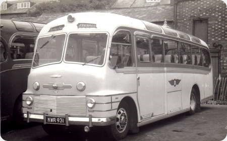 Kirkby and Sons - Commer Avenger - KWR 931