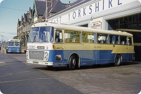 East Yorkshire - Leyland Panther - JRH 323E - 823