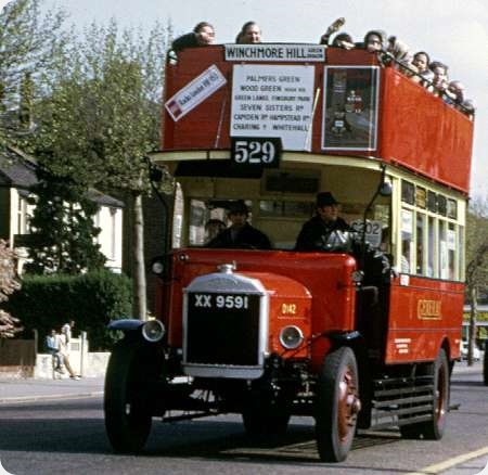London General - Dennis 4 ton - XX 9591 - D 142