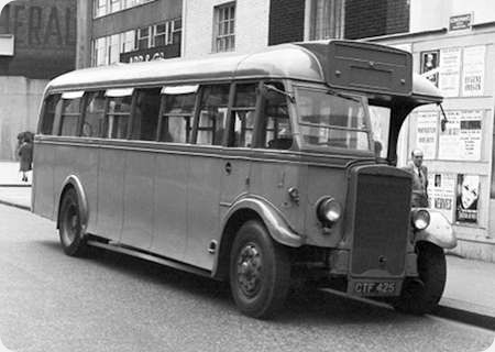 Lancashire United Transport - Leyland Tiger - CTF 425 - 116