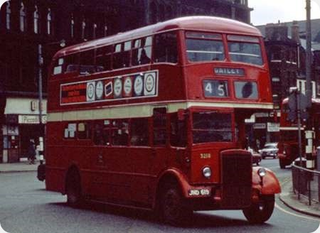 Manchester Corporation - Leyland Titan PD2 - JND 619 - 3218