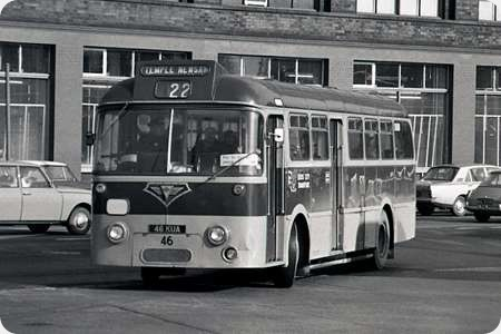 Leeds City Transport - AEC Reliance - KUA 46 - 46
