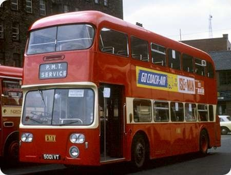 Potteries Motor Traction - Daimler Fleetline - 5001 VT - L 1001