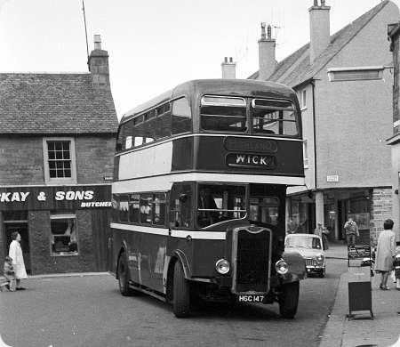 Highland Omnibuses - Guy Arab - HGC 147 - E8