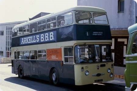 Swindon Corporation - Daimler Fleetline - MWV 151G - 151