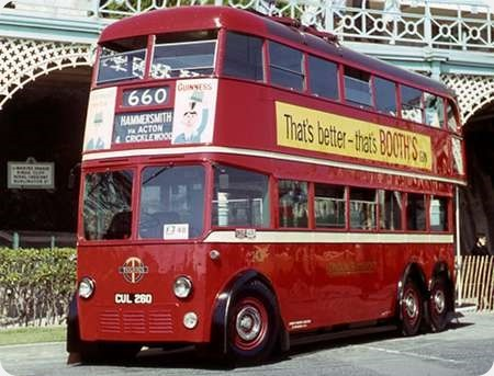 London Transport - AEC 664T - CUL 260 - 260