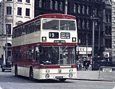 Manchester Corporation - Leyland PDR1/1 - HVM 914F - 1014