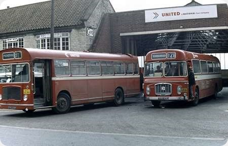 United Automobile - Bristol RELH6G - NHN 143E - 4343