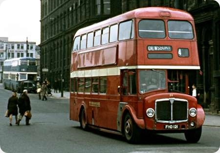 Yorkshire Woollen District - AEC Regent V - FHD 121 - 94