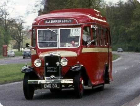 E J Baker - Bedford WLB - CMG 30