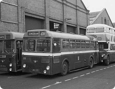 West Bromwich - Leyland Tiger Cub - UEA 213 - 213