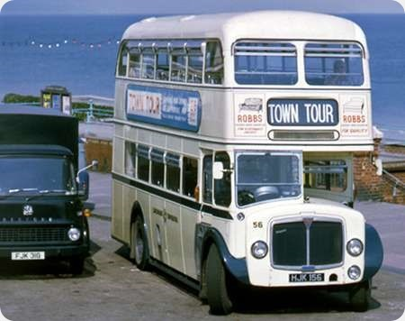 Eastbourne Corporation - AEC Regent V - HJK 156 - 56